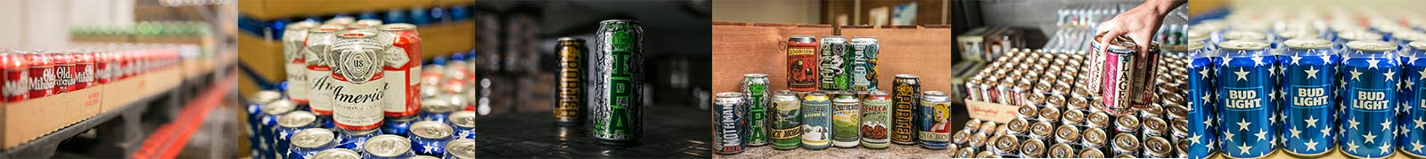 Beer photo collage